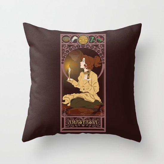 Anastasia Nouveau - Anastasia Throw Pillow