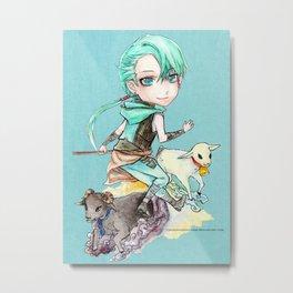 Abdiel Metal Print