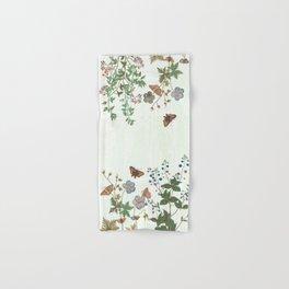 The fragility of living - botanical illustration Hand & Bath Towel