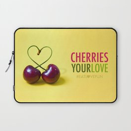 Cheeries Your Love Laptop Sleeve