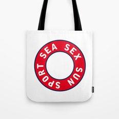 Sea Sex Sun Sport. Summer and Love. People. iPhone 4 5 6, ipod, ipad case Samsung Galaxy Tote Bag