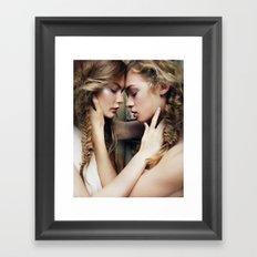 Roxy & Claire Framed Art Print