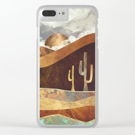 Patina Desert Clear iPhone Case