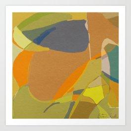 Jar Fragment 3 Art Print