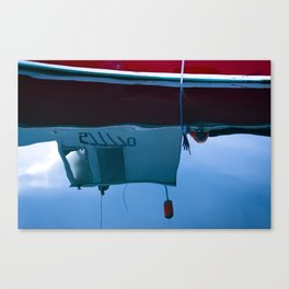 Gloucester Reflections Canvas Print