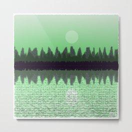 Moonscape #107,746,438 Metal Print
