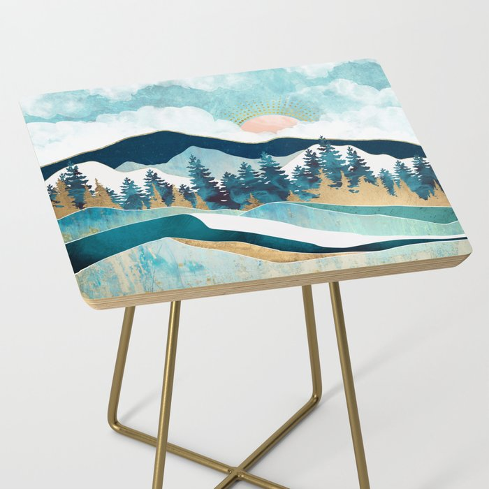 Summer Forest Side Table