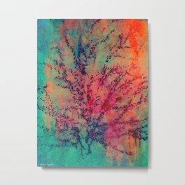 True Colors Bleed Metal Print