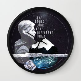 Bowie Wall Clock