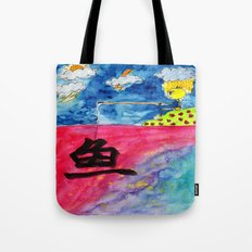 Sentiment Fishing Tote Bag