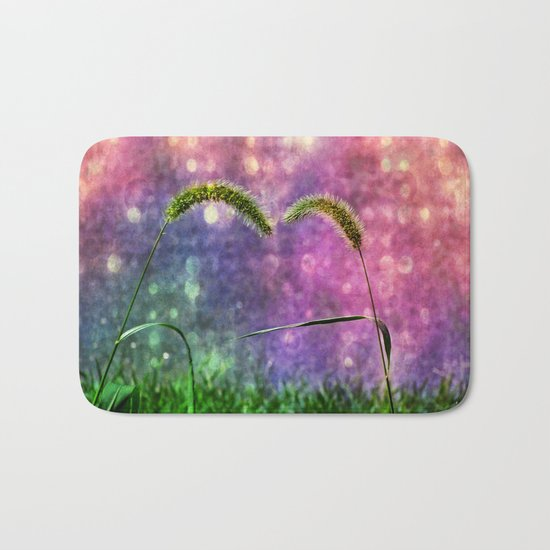 Grass Duo Love And Sparkle Bath Mat