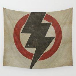 lightning strike zone Wall Tapestry