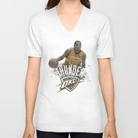 oklahoma V-neck T-shirts featuring Oklahoma by JMV Designs