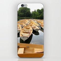 Bois de Boulogne Paris Boats iPhone & iPod Skin