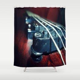 Dusty Guitar  Shower Curtain