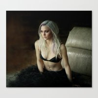 lana Canvas Prints featuring Lana by ryan & genessa