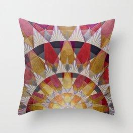 Triangle Explosion Throw Pillow