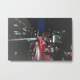 Just once, Just one I would like to see your rain ruin my parade.  Metal Print