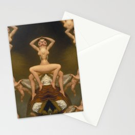Grotesque Symmetry 2 Stationery Cards