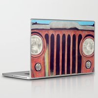 jeep Laptop & iPad Skins featuring Jeep by Shannon Rutherford