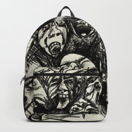 Mad in white  Backpack