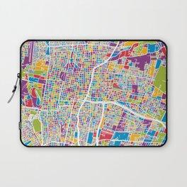 Mendoza Argentina City Street Map Laptop Sleeve