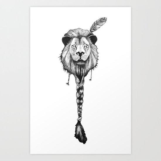 Lionelle 2 Art Print