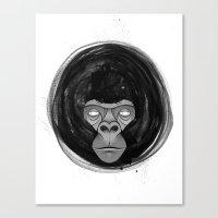 gorilla Canvas Prints featuring Gorilla  by dchristo