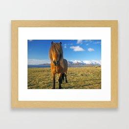 Whats up? :) Framed Art Print