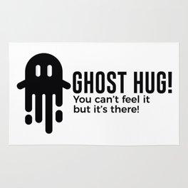 Ghost Hug Is Real Halloween Design Rug