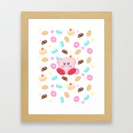 Kirby & Sweets Framed Art Print