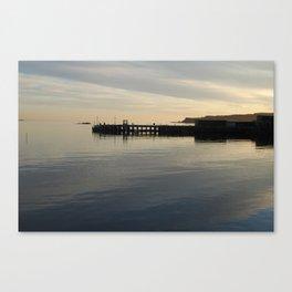 Millport Pier Canvas Print