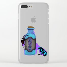 Pick your Poison Clear iPhone Case