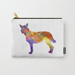 Bouvier des Ardennes in watercolor Carry-All Pouch