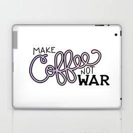 Coffee Not War (Unicorn) Laptop & iPad Skin