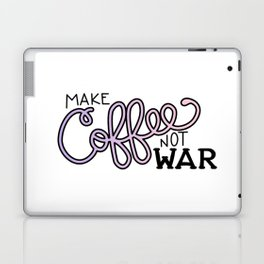 Coffee Not War (Unicorn) Laptop & iPad Skin
