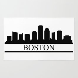 Boston skyline Rug