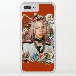 Billie Eilish Graphic Artwork Clear iPhone Case