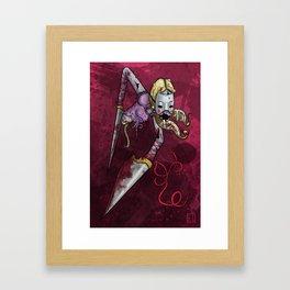 Cutter Framed Art Print