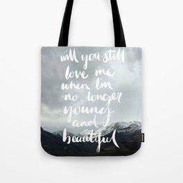 Young and Beautiful - Asturias, Spain Tote Bag