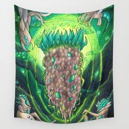 Vortex Pillar- Terraria Wall Tapestry