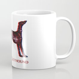 Greyhound Dog | Animal Art Design Coffee Mug