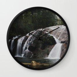 coal creek falls I Wall Clock