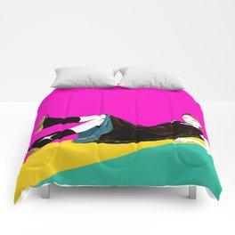 sae-pink Comforters