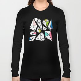 Shine Bright | Colorful Geo Gems Long Sleeve T-shirt