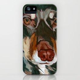 Red Dog - An Australian Kelpie iPhone Case