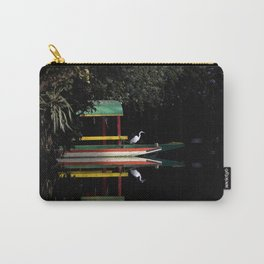 Xochimilco Lake Carry-All Pouch