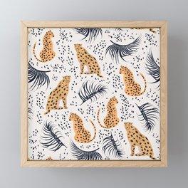 Cheetah Framed Mini Art Print