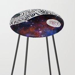 Galaxy Yin Yang Counter Stool