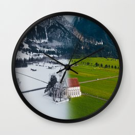 Season Changing Wall Clock